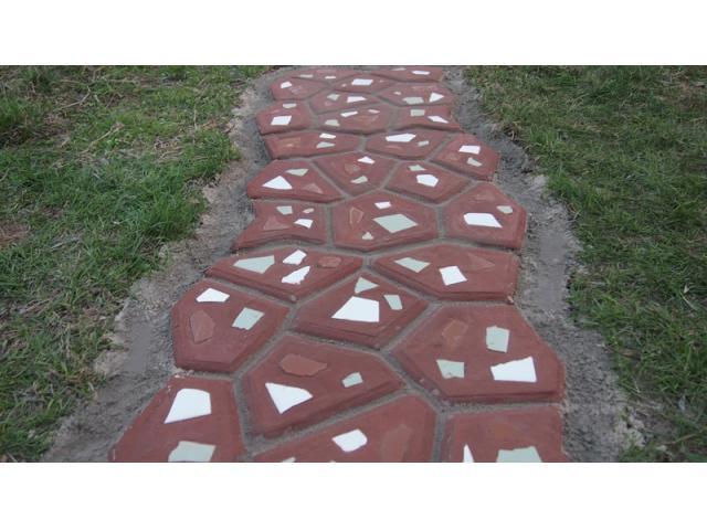 Плочки тротоарни - форми и модели.