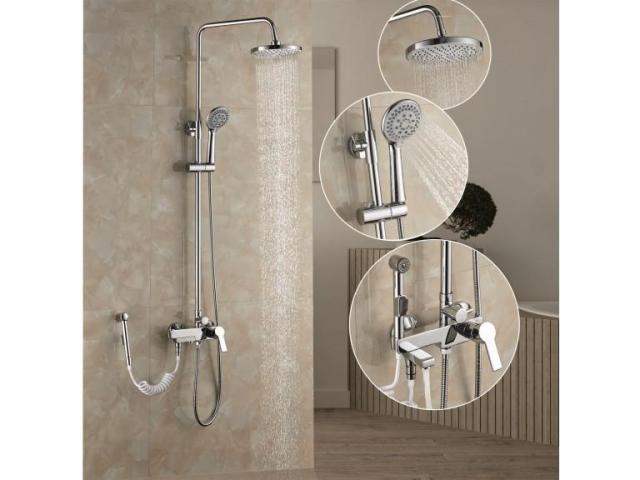 Цялостно модерно обзавеждане за вашата баня. - 4
