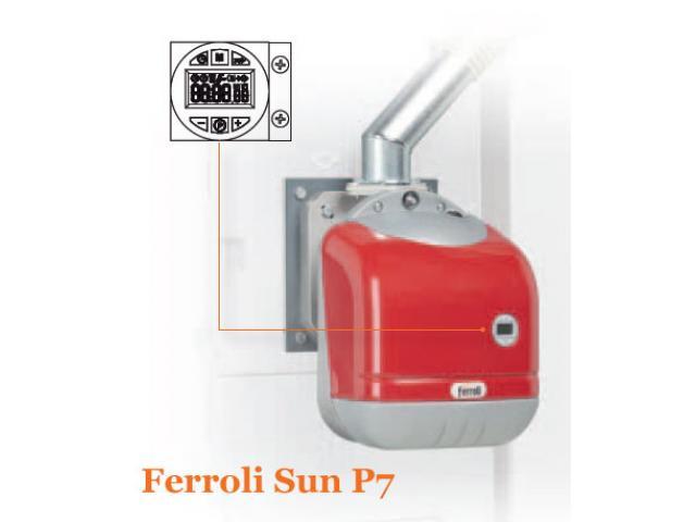 Пелетна горелка SUN P7/ P12