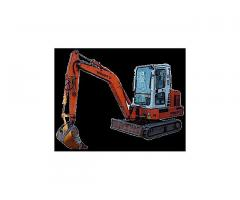 Услуги с мини багер, изкопи, канали, дренажи